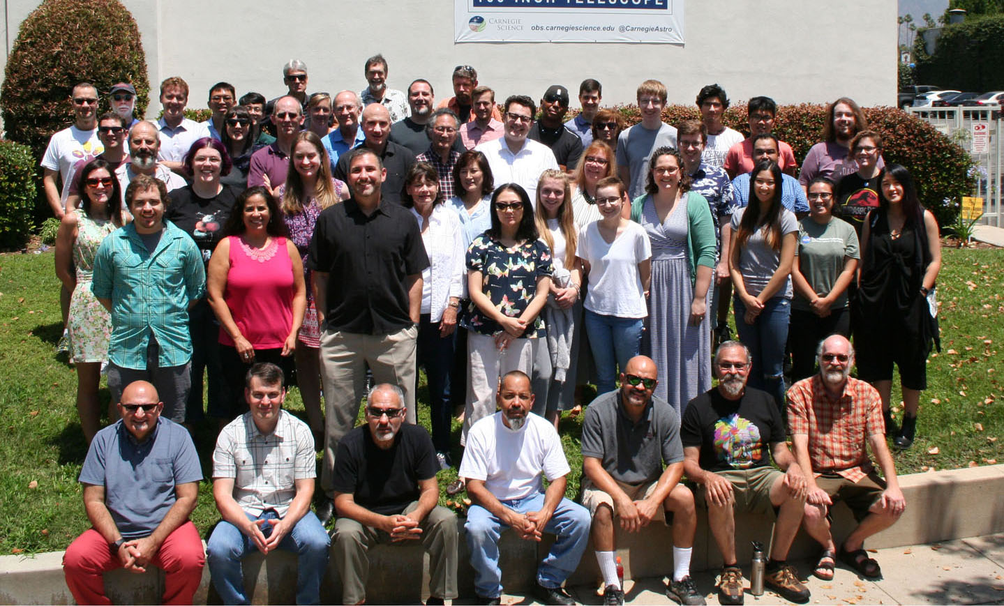 Carnegie Observatories 2018 staff photo