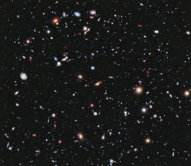 Hubble Deep Field Image Courtesy of NASA Goddard