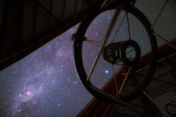 Magellan telescope at night. Picture by Yuri Beletsky