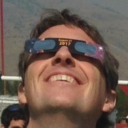 Me, gazing avidly at the 2017 Solar Eclipse, using protective glasses of course.