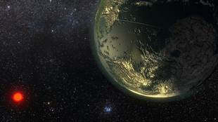 Image of extra-solar planet